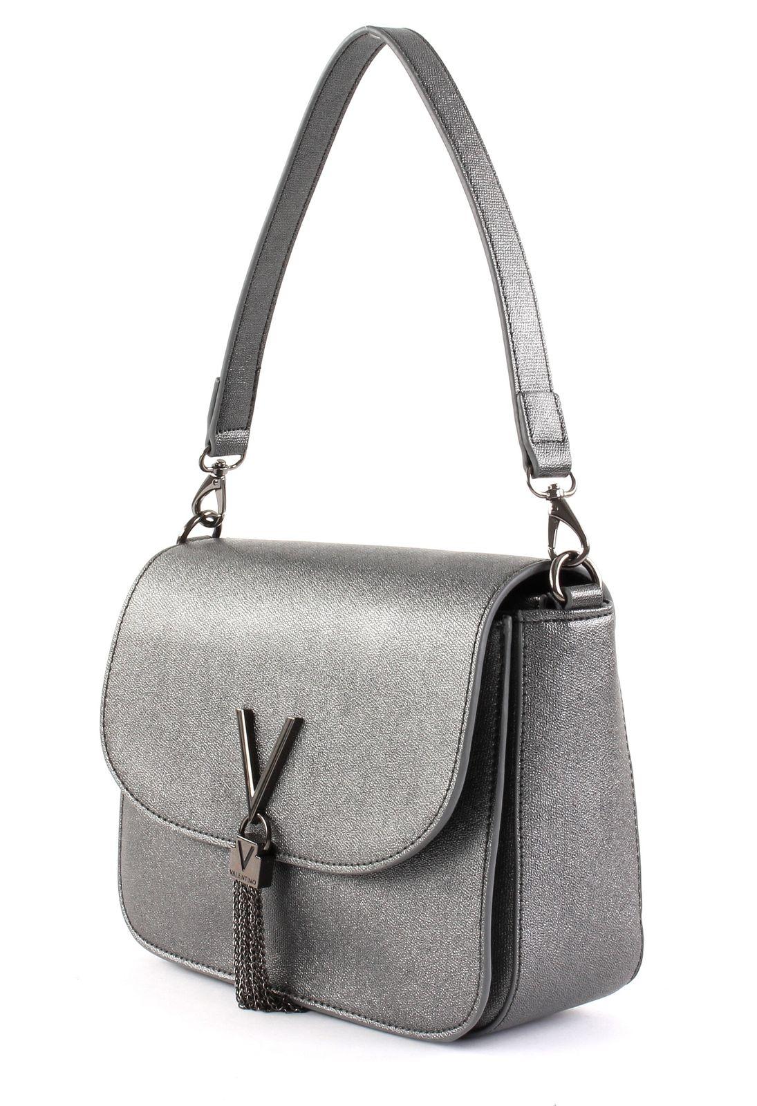 af8a59705c04e VALENTINO Marilyn Shoulder Bag Schultertasche Tasche Cannafucil Grau ...