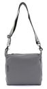 MANDARINA DUCK Mellow Leather Crossover Bag M Gargoyle buy online at modeherz