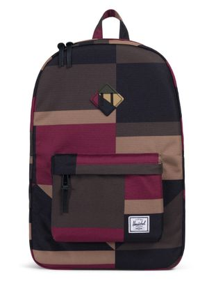 Herschel Heritage Backpack Windsor Wine Frontier Geo