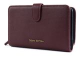 Marc O'Polo Ulla Combi Wallet M Burgundy Red buy online at modeherz