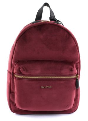 Marc O'Polo Lucia Backpack M Burgundy Red