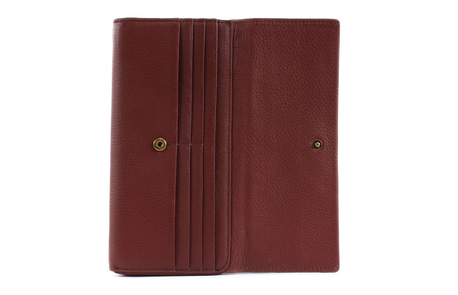 7626dbd026 Marc O Polo Pete Combi Wallet M Dark Cognac