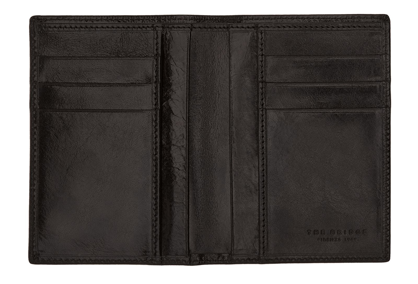 The Bridge Story Uomo Credit Card Holder L Nero