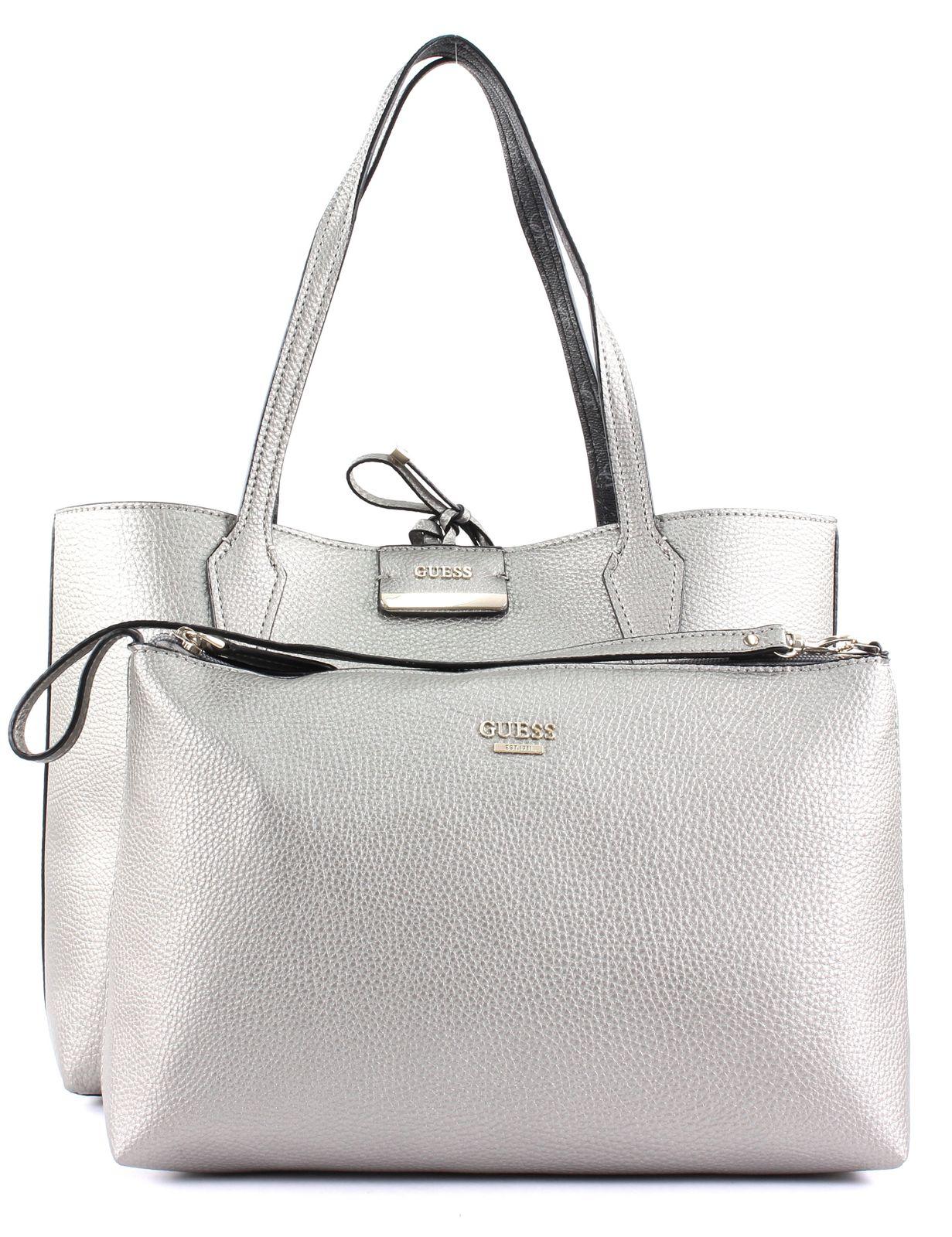 Raten Sie Tasche Guess Leder Carla Brown :