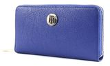 TOMMY HILFIGER TH Core Large Zip Around Wallet Mezarine Blue / June Bug buy online at modeherz