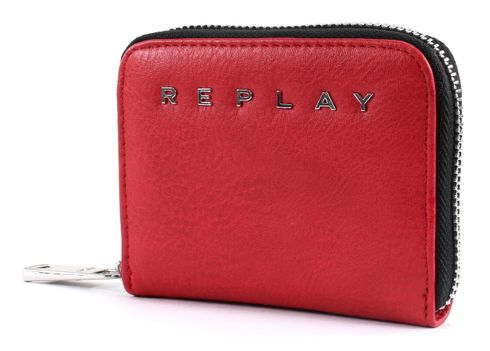 REPLAY Wallet Blood Red