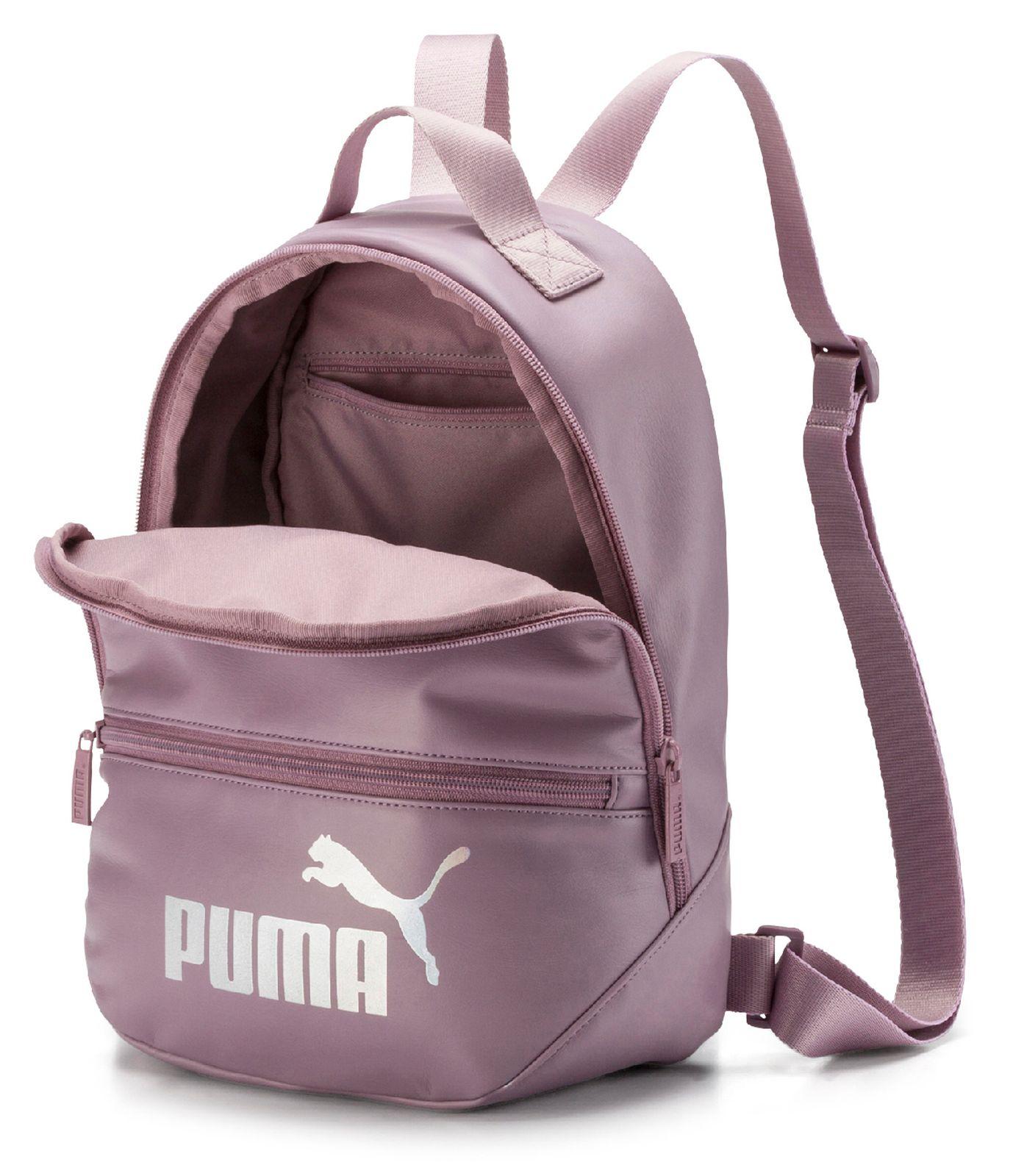Puma Damen Rucksack Core Up Archive silber | Damenrucksäcke