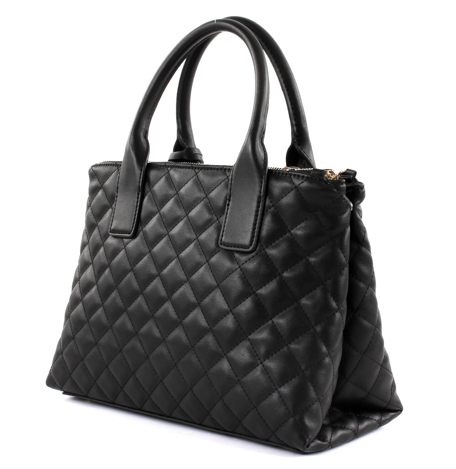 guess handtasche elliana status satchel black. Black Bedroom Furniture Sets. Home Design Ideas