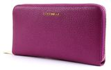 COCCINELLE Metallic Soft Zip Around Wallet Ultra Violet online kaufen bei modeherz