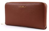 COCCINELLE Metallic Soft Zip Around Wallet Brule online kaufen bei modeherz