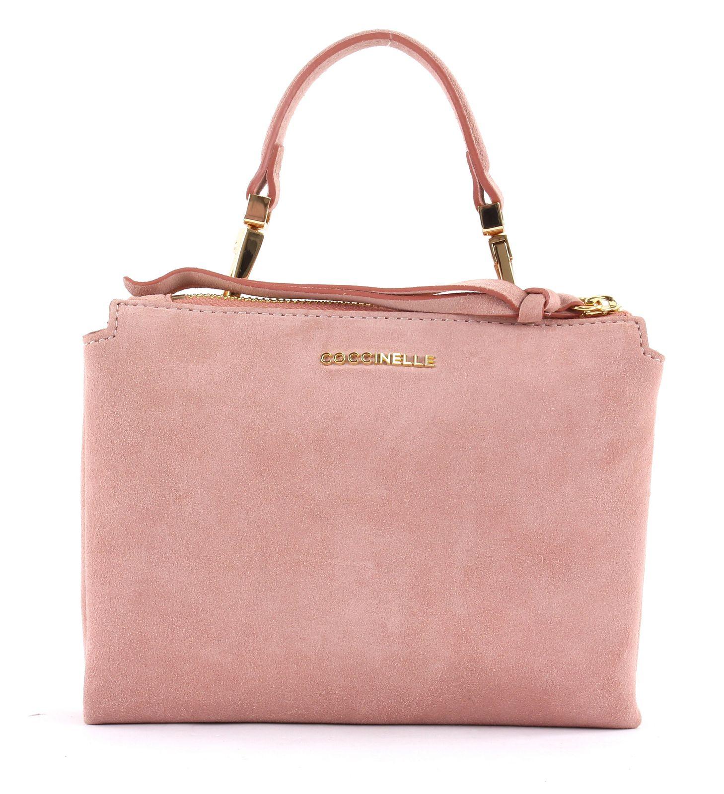 on wholesale so cheap classic fit COCCINELLE Arlettis Suede Small Handbag Pivoine