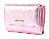 COCCINELLE Metallic Soft Flap Wallet Bubble Gum Metal online kaufen bei modeherz