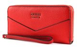 GUESS Colette SLG Large Zip Around Tomato buy online at modeherz