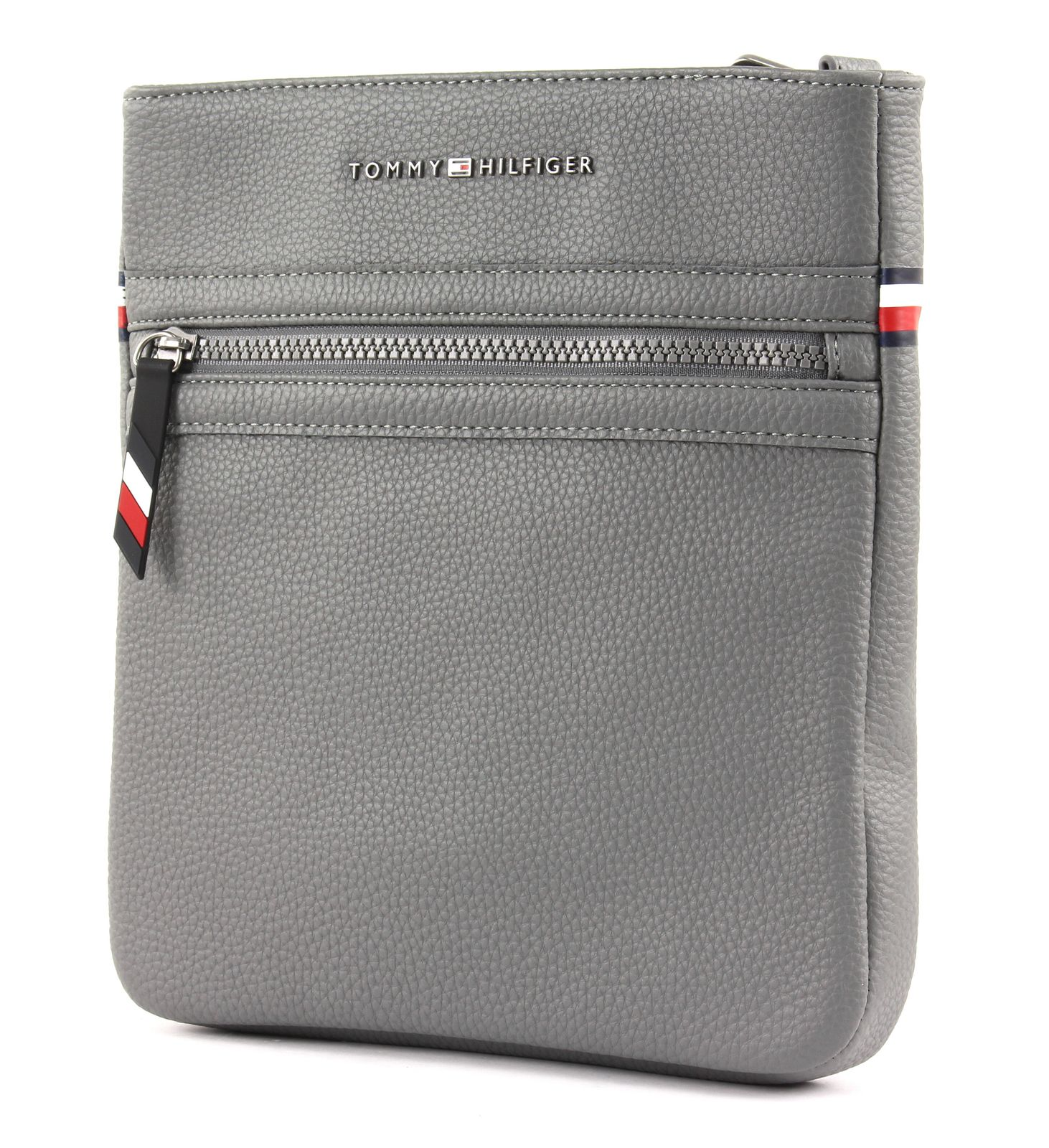 Tommy Hilfiger grey bag Essential Crossover II Smoked Pearl