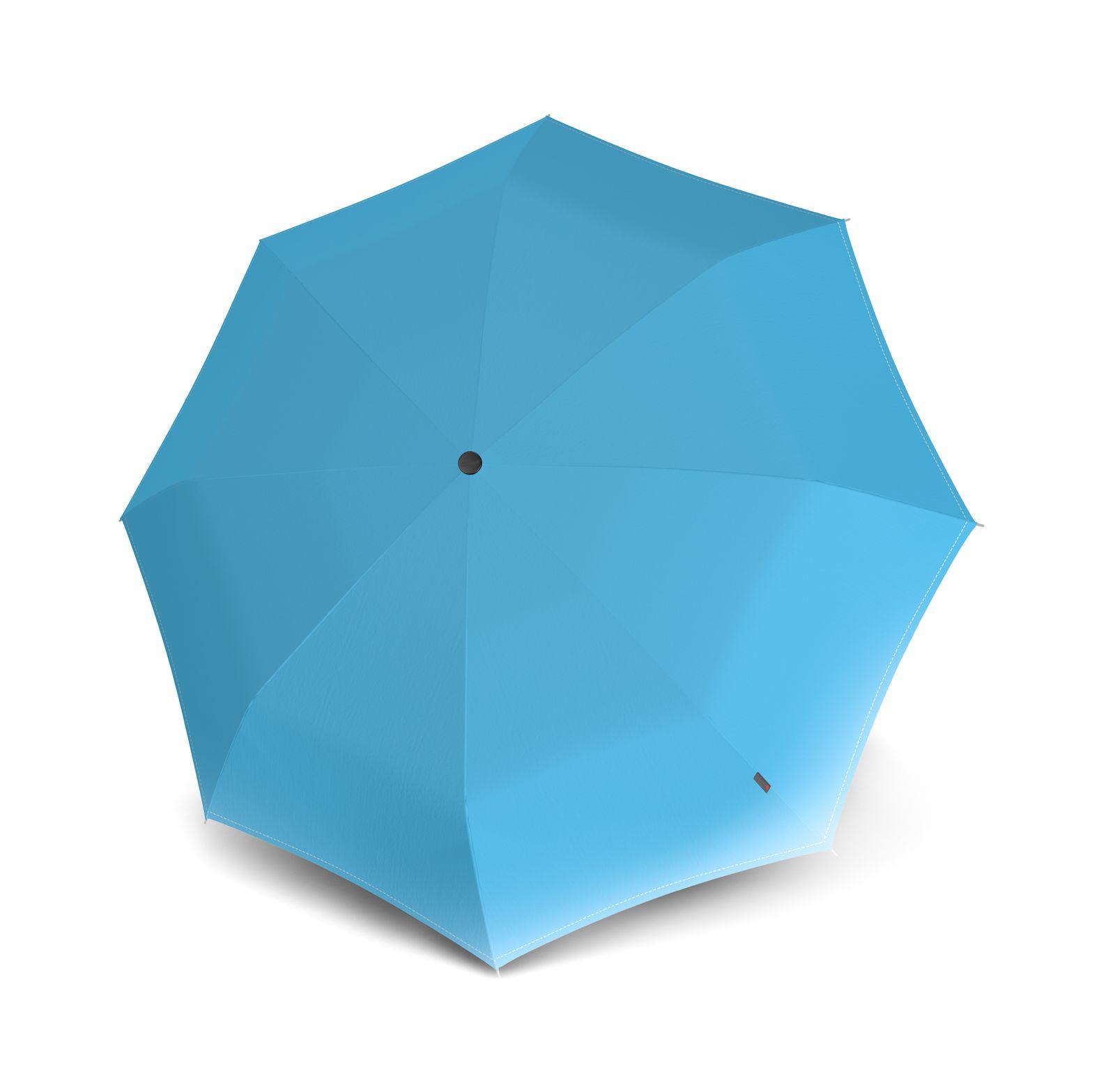Knirps T.010 Small Manual Regenschirm Audrey Blue Blau