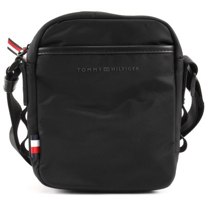 TOMMY HILFIGER Sport Nylon Mini Reporter Black
