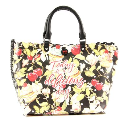 Y NOT? Today Is A Delicious Day Shopper S Black