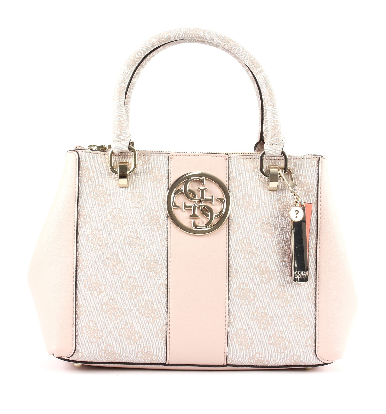 GUESS Bluebelle Status Satchel Blush