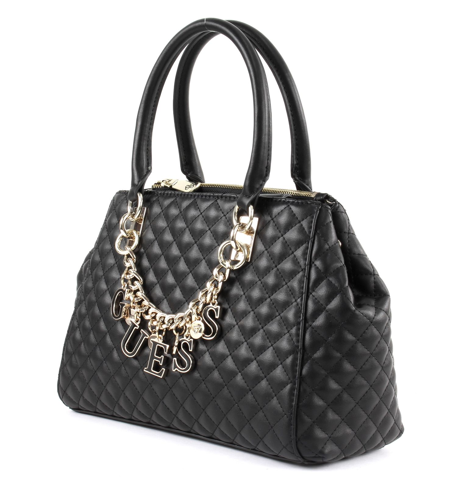 Guess Guess Passion Status Satchel Black in schwarz