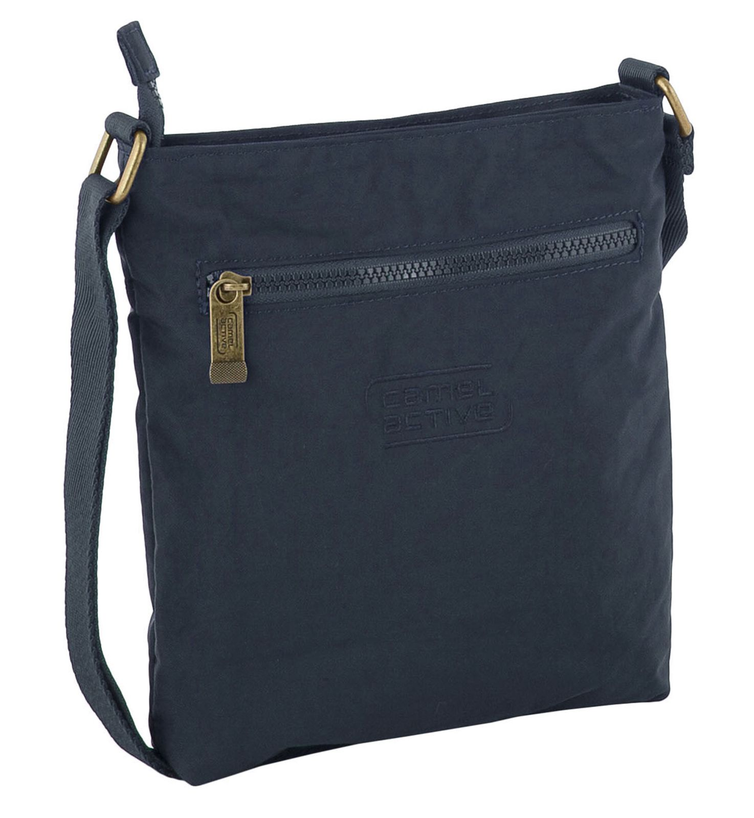 camel active Journey Shoulder Bag Umhängetasche Tasche Dark Blue Blau