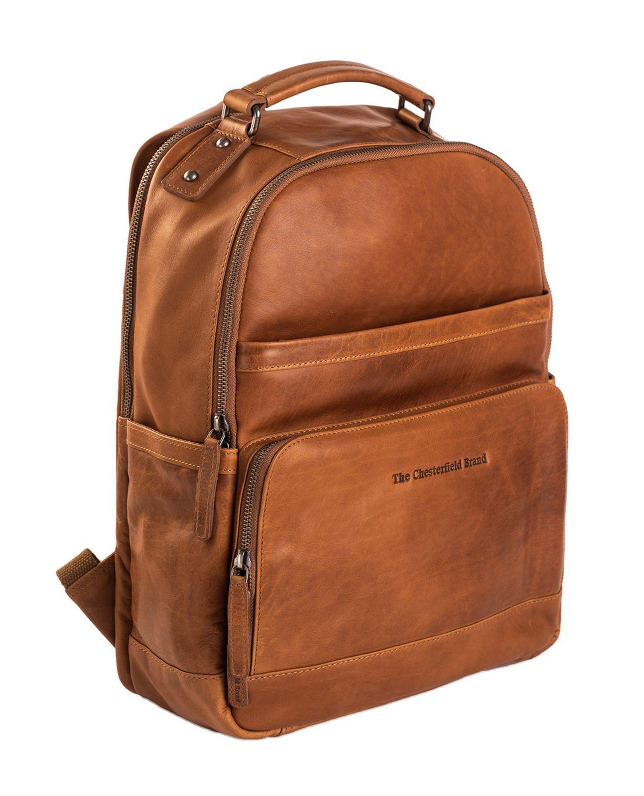 ce4847bdf24 The Chesterfield Brand Austin Backpack Cognac