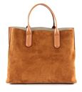 COCCINELLE Sandy Bimaterial Hand Bag Caramel buy online at modeherz