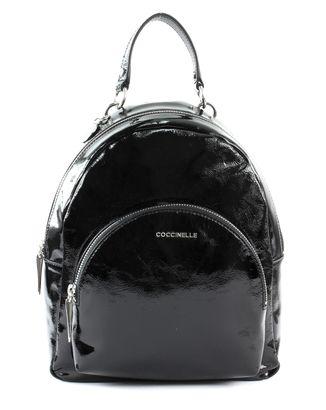 COCCINELLE Alpha Naplack Backpack Noir