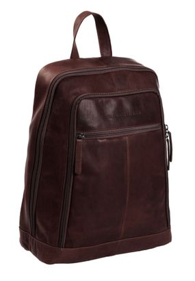 The Chesterfield Brand James Laptop Backpack Brown
