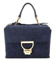 COCCINELLE Arlettis Suede Top Handle Bag Bleu buy online at modeherz
