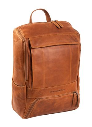 The Chesterfield Brand Rich Laptop Backpack Cognac