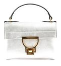 COCCINELLE Mignon Top Handle Bag XS Silver online kaufen bei modeherz
