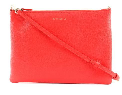 COCCINELLE Mini Bag Small Clutch Polish Red