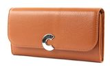 COCCINELLE Craquante Flap Wallet Caramel buy online at modeherz
