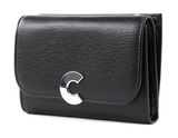 COCCINELLE Craquante Small Flap Wallet Noir buy online at modeherz