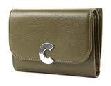 COCCINELLE Craquante Small Flap Wallet Evergreen buy online at modeherz