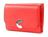 COCCINELLE Craquante Small Flap Wallet Polish Red buy online at modeherz