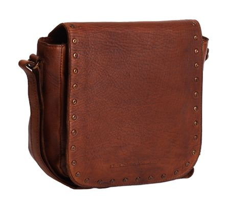 The Chesterfield Brand Canvey Shoulderbag Cognac