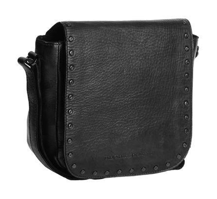 The Chesterfield Brand Canvey Shoulderbag Anthracite