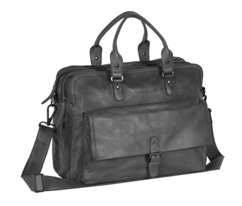 The Chesterfield Brand Johnny Computerbag Anthracite