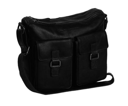 The Chesterfield Brand Dhaka Shoulderbag Black