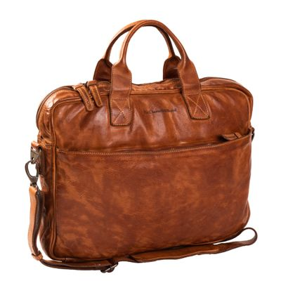 The Chesterfield Brand Antwerp Computerbag Cognac