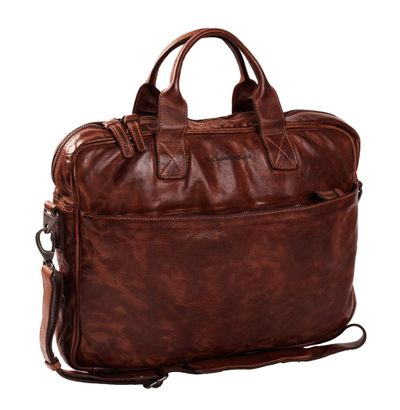 The Chesterfield Brand Antwerp Computerbag Brown