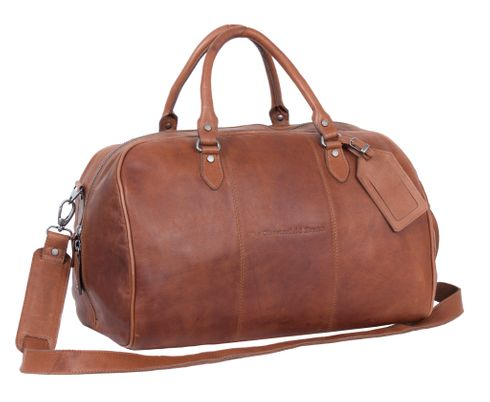 The Chesterfield Brand Liam Travel Bag Cognac