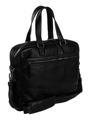 The Chesterfield Brand Blackburn Schoolbag Black