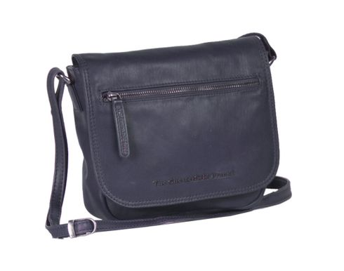 The Chesterfield Brand Cis Flap Crossover Bag Jeans Blue