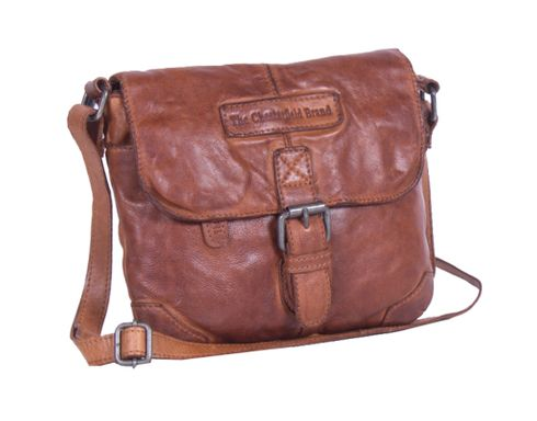 The Chesterfield Brand Cato Flapoverbag S Cognac