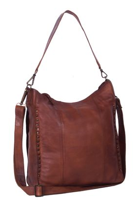 The Chesterfield Brand Larin Large Hobo Bag Cognac