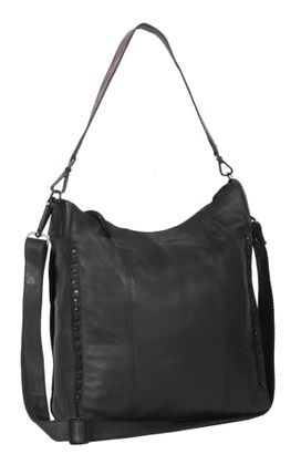 The Chesterfield Brand Larin Large Hobo Bag Anthracite