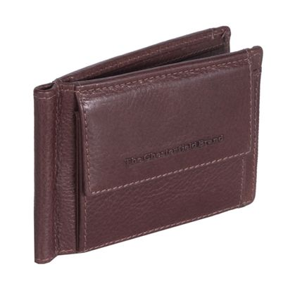 The Chesterfield Brand Joshua Clip Wallet Brown