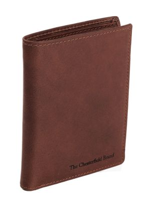 The Chesterfield Brand Tymon Billfold Brown
